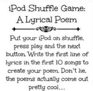 iPod game