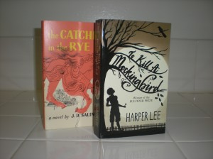 The Catcher in the Rye and To Kill A Mockingbird, two of the only classics I liked.